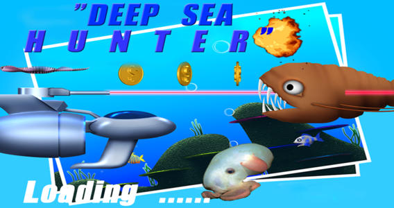 Deep Sea Hunter Pro - A game in which players shoot deep sea creatures with lasers and fireballs.