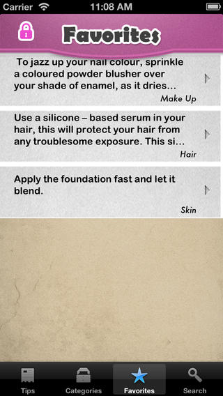 Beauty Tips+ iPhone Screenshot 4