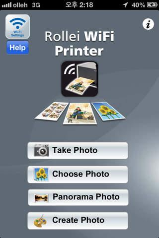 rollei wifi printer free iphone ipad app app decide