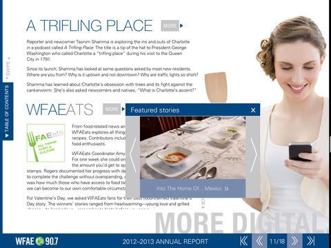 WFAE 90.7 2012-2013 Annual Report