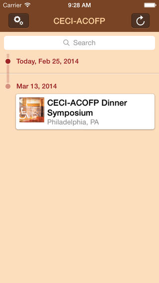CECI-ACOFP Dinner Symposium