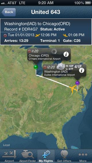 Washington Dulles Airport Pro - Flight Tracker IAD + BWI DCA