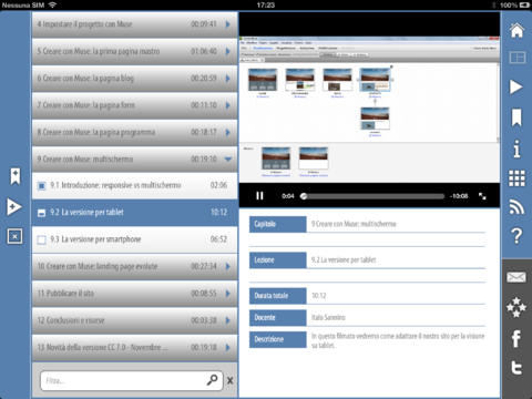 Videocorso Creare un sito web senza scrivere codice con Muse CC