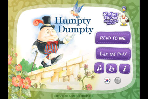 Humpty Dumpty: Mother Goose Sing-A-Long Stories 2