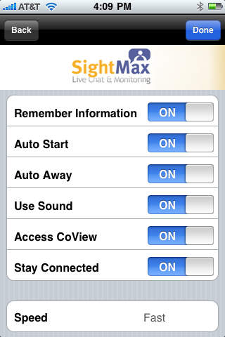 iMaximo SightMax Live Chat (SightMax 7.1)