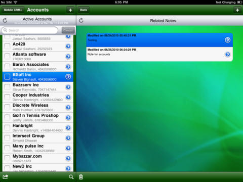 Mobile CRM+ for MS Dynamics CRM Hosted & Onpremise (For iPad)