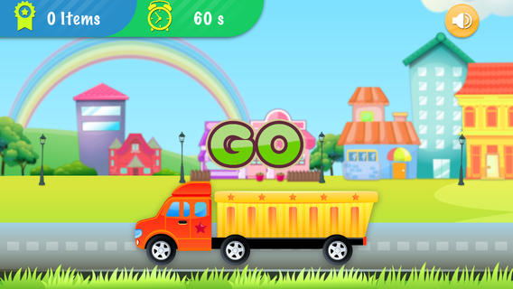 Collect ABC Words - for Preschoolers babies kids English Learning