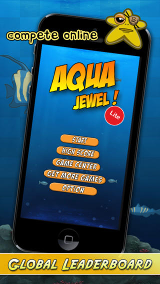 Aqua Jewel : An Addictive Bubble Breaker iPhone Screenshot 3