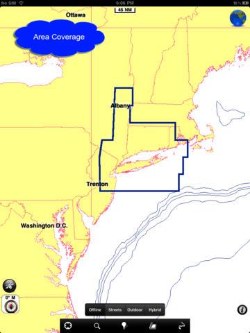 Marine: New York City HD - GPS Map Navigator