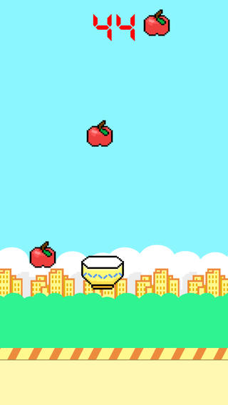 Flapping Fall Down-Can You Catch Red Fruit