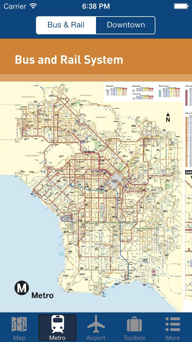 主要飞机场地图