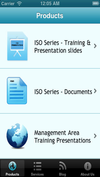 ISO Training