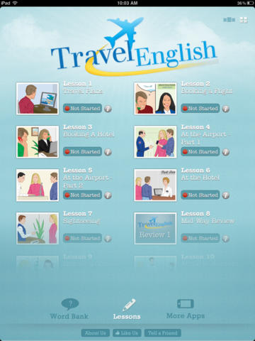 Travel English HD
