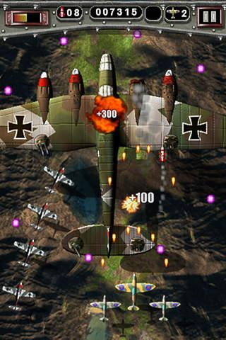 Mortal Skies Lite - Modern War Air Combat Shooter iPhone Screenshot 2