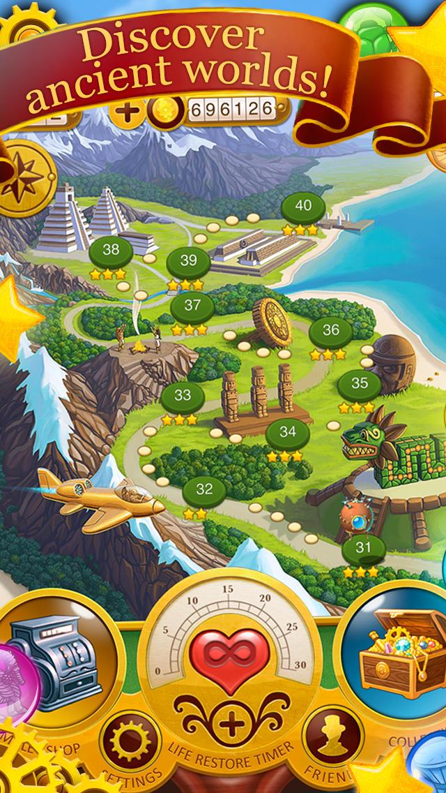 Bubble Chronicles: Epic Travel  Screenshot