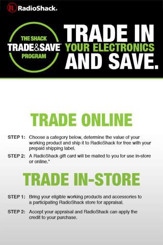 RadioShack Trade & Save