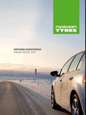 Nokian Tyres Annual Report 2010
