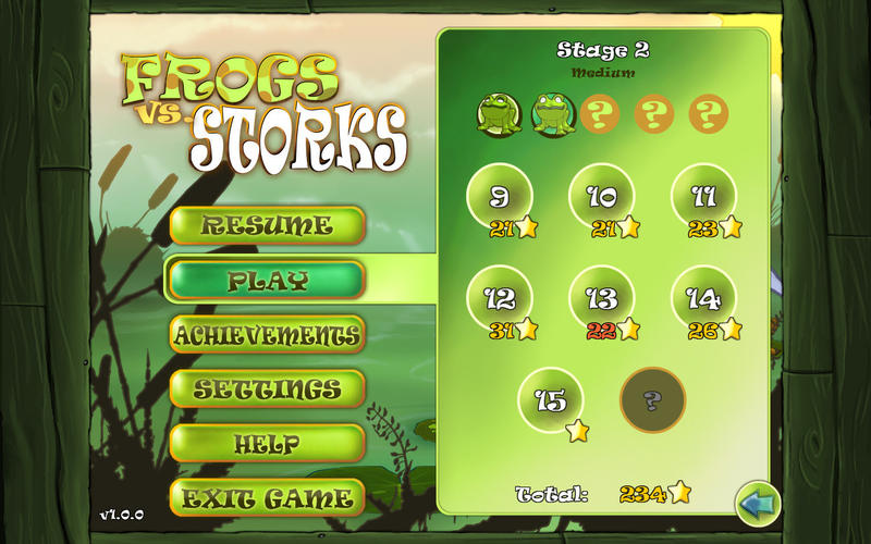 Frogs vs. Storks Screenshot - 1
