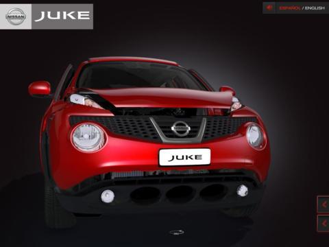 Discover Nissan Juke Tablet