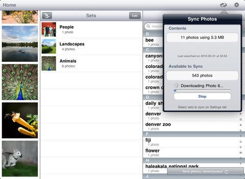 Photo Pad: Flickr - Sync Photos iPad Screenshot 4