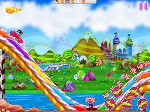 Racing Candy World Cars HD - Multiplayer Free Game