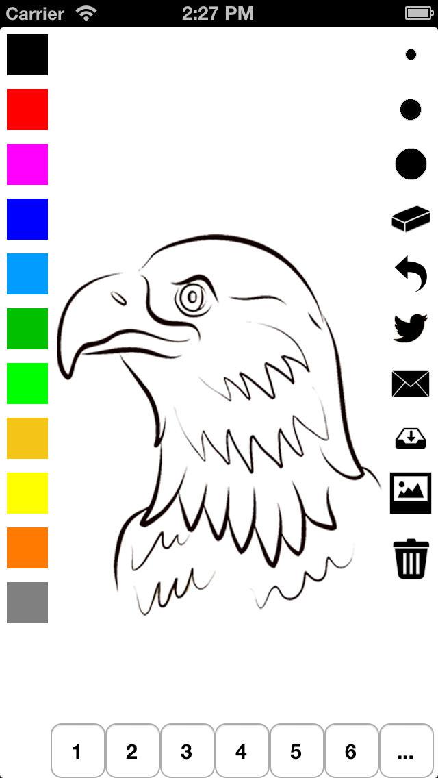 Libro para colorear los Estados Unidos para niños: aprender a ...