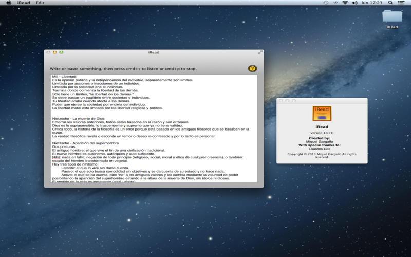 """iRead - 文本朗读[OS X]丨""""反""""斗限免"""