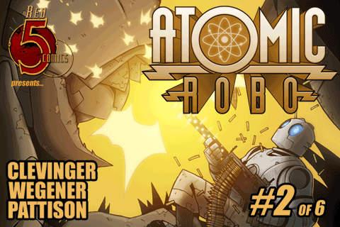 Atomic Robo #2