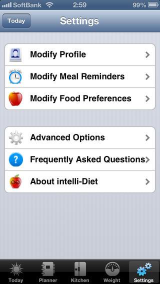智能菜谱:intelli-Diet App | Weight Loss App【你的口袋营养师】