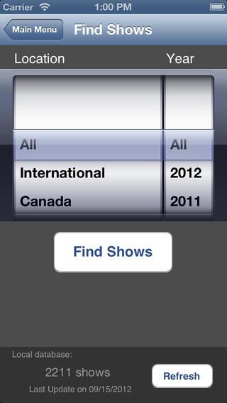 My DMB iPhone Screenshot 2