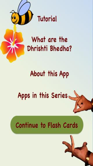 B-Natyam Flash Cards - Eye Movements Dhrishti Bhedha