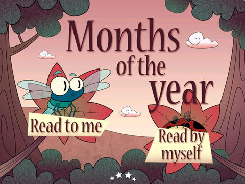 Months of the Year HD - Children's Story Book