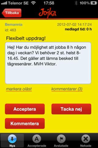 Jojka Workforce screenshot 2