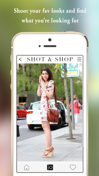 SHOT SHOP - visual search to find Fashion while taking Photos