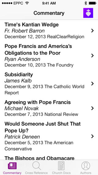 The Catholic Social Teaching App