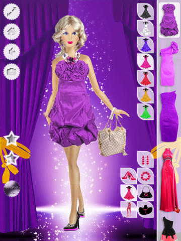 化妆和换装游戏 免费 玩偶芭比 针对女孩的游戏 芭比