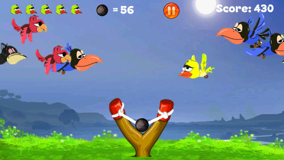 Flappy Slingshot Annoying Forest Bird: A Angry Flying Birds Shooter Game