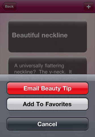 Beauty T iPhone Screenshot 2