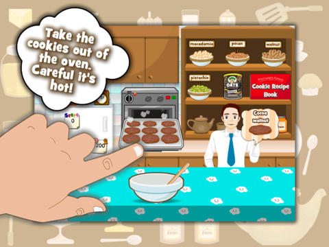 Cookie Baker HD iPad Screenshot 4