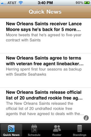 New Orleans Saints 2011 News and Rumors