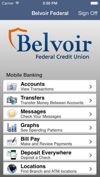 Belvoir Federal Mobile Banking