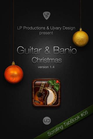 Guitar & Banjo Christmas iPhone Screenshot 1