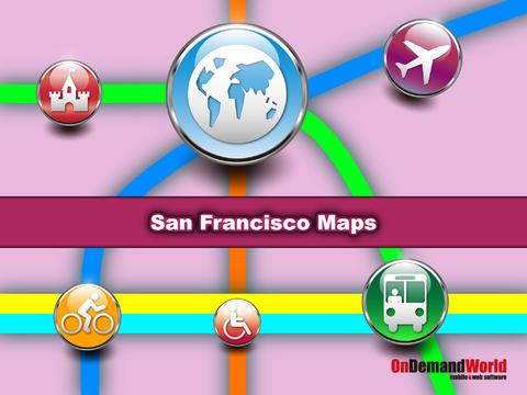 【免費交通運輸App】旧金山(美国)地图 - 下载Muni路线图和旅游指南-APP點子