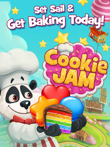 Cookie Jam iPad Screenshot #1 screenshot