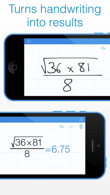 MyScript Calculator - Handwriting calculator - iPhone Mobile Analytics and App Store Data