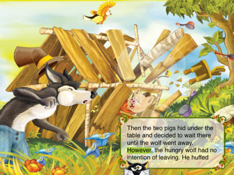 The Three Little Pigs Interactive Fairy Tale