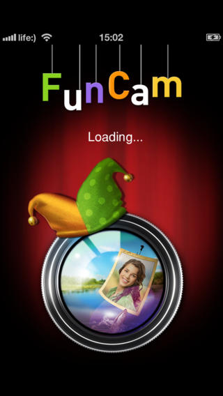 FunCam – real-time photo booth with crazy and fun effects