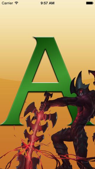 Aatrox para league of legends