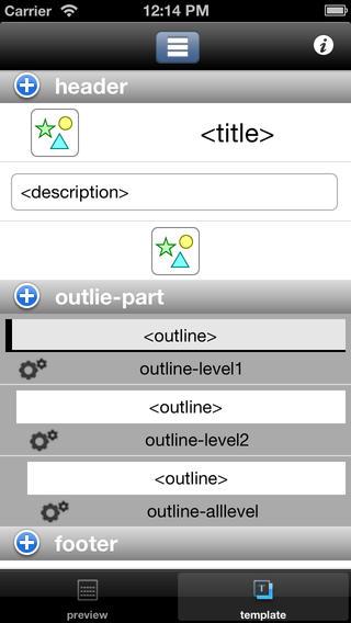 Outline Form