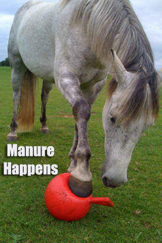 Manure Happens - Equestrian and Horsemanship Humor